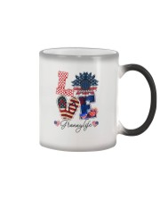Flag Love Grannylife Sunflower Color Changing Mug thumbnail