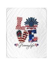 """Flag Love Grannylife Sunflower Quilt 40""""x50"""" - Baby thumbnail"""