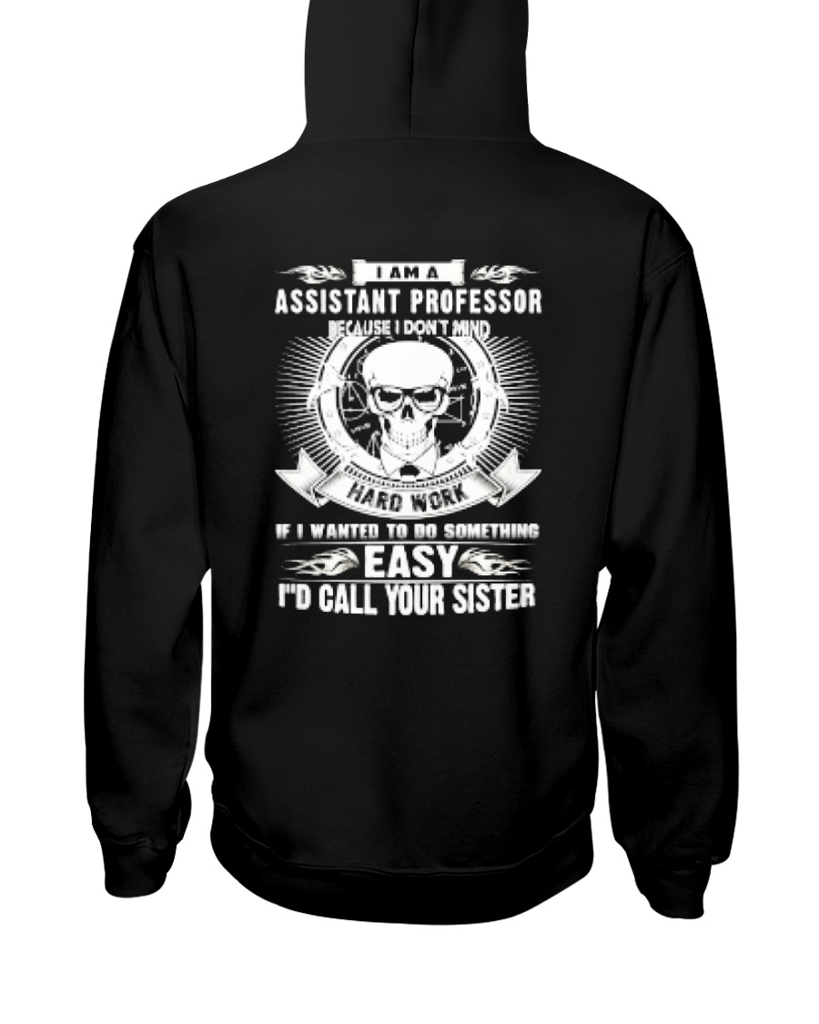 Assistant Professor Hooded Sweatshirt