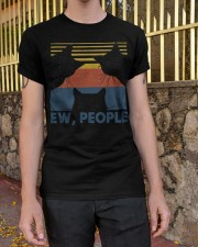Vintage Black Cat Art Ew People Classic T-Shirt apparel-classic-tshirt-lifestyle-21