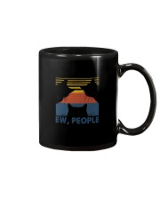 Vintage Black Cat Art Ew People Mug thumbnail
