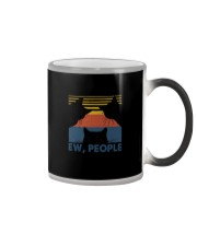 Vintage Black Cat Art Ew People Color Changing Mug thumbnail