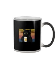 Funny Black Beer Because Murder Is Wrong Color Changing Mug thumbnail