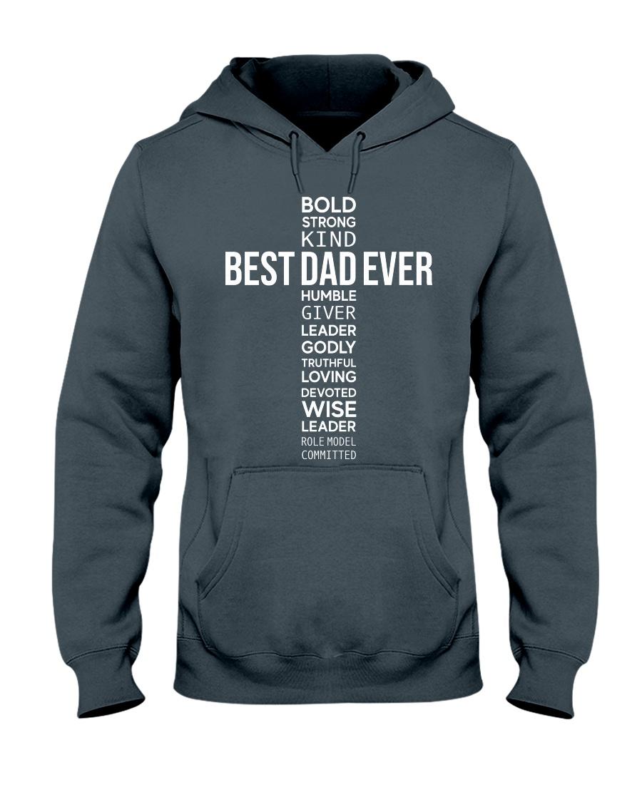 BEST DAD EVER - CROSS Hooded Sweatshirt