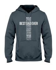 BEST DAD EVER - CROSS Hooded Sweatshirt front