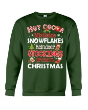 CHRISTMAS T-SHIRT Crewneck Sweatshirt front