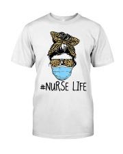 Nurse Leopard Classic T-Shirt front