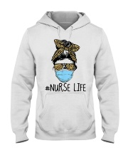 Nurse Leopard Hooded Sweatshirt thumbnail