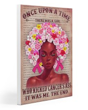 Breast Cancer Once Upon A Time 20x30 Gallery Wrapped Canvas Prints thumbnail