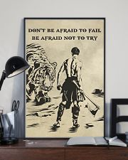 Don't be afraid to fail be afraid not to try 16x24 Poster lifestyle-poster-2
