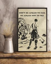 Don't be afraid to fail be afraid not to try 16x24 Poster lifestyle-poster-3