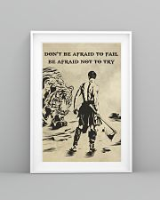 Don't be afraid to fail be afraid not to try 16x24 Poster lifestyle-poster-5