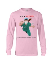 NURSE - what is your superpower Long Sleeve Tee thumbnail
