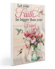 Let Your Faith Be Bigger Than Your Fears 20x30 Gallery Wrapped Canvas Prints thumbnail