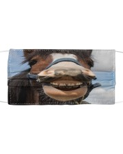 Horse Mask Cloth face mask front