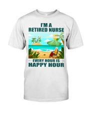 Every hour is happy hour Classic T-Shirt front
