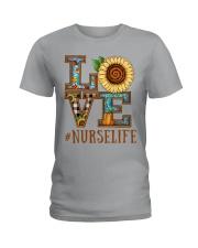 Nurse Love Ladies T-Shirt front