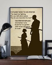 A student said to his master 16x24 Poster lifestyle-poster-2