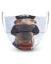 Horse Mask -1 3 Layer Face Mask - Single front
