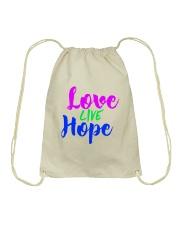 Love Live Hope Drawstring Bag thumbnail