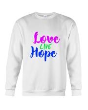 Love Live Hope Crewneck Sweatshirt thumbnail