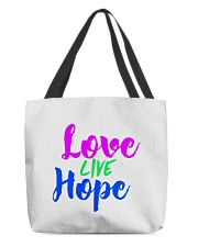 Love Live Hope All-over Tote thumbnail