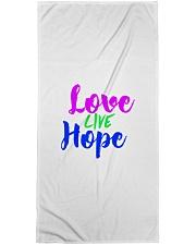 Love Live Hope Bath Towel thumbnail