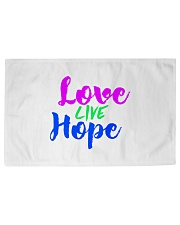 Love Live Hope Woven Rug - 6' x 4' thumbnail