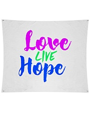 """Love Live Hope Wall Tapestry - 104"""" x 88"""" thumbnail"""