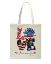 Flag Love Grandmalife Sunflower Tote Bag tile