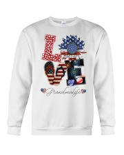 Flag Love Grandmalife Sunflower Crewneck Sweatshirt tile