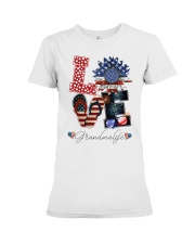 Flag Love Grandmalife Sunflower Premium Fit Ladies Tee tile