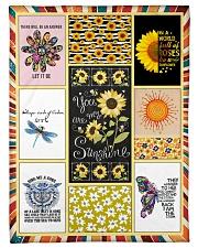 """Hippie Blanket Small Fleece Blanket - 30"""" x 40"""" front"""