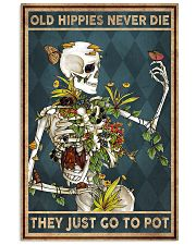 Old hippies never die 11x17 Poster front