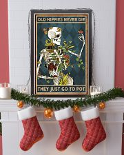 Old hippies never die 11x17 Poster lifestyle-holiday-poster-4