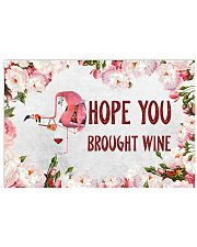 Hope you brought wine Horizontal Poster tile