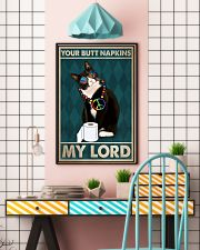 Your butt napkins my lord 11x17 Poster lifestyle-poster-6