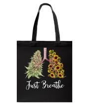 Just breathe Tote Bag thumbnail