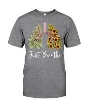 Just breathe Classic T-Shirt thumbnail