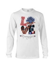 Flag Love Nannylife Sunflower Long Sleeve Tee thumbnail