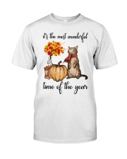 Autumn Cats Classic T-Shirt tile