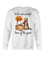 Autumn Cats Crewneck Sweatshirt thumbnail