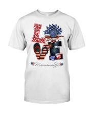 Flag Love Mauwmalife Sunflower Classic T-Shirt thumbnail