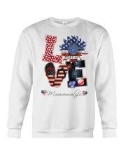 Flag Love Mauwmalife Sunflower Crewneck Sweatshirt thumbnail