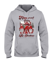 Have yourself a groovy little christmas Hooded Sweatshirt front