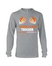 Taken by a crazy trucker Long Sleeve Tee thumbnail