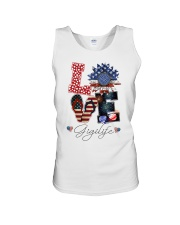 Flag Love Gigilife Sunflower Unisex Tank thumbnail