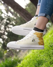 Limited edition Women's High Top White Shoes aos-complex-women-white-top-shoes-lifestyle-01