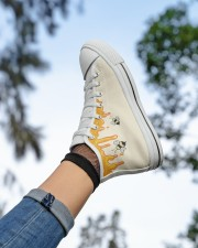 Limited edition Women's High Top White Shoes aos-complex-women-white-top-shoes-lifestyle-05