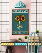 Some see a weed some see a wish 11x17 Poster lifestyle-poster-6